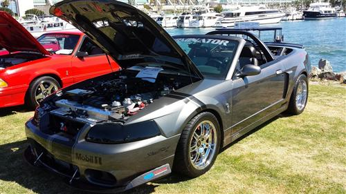 Stan Wickliffe's 2003 Ford Mustang Cobra Convertible