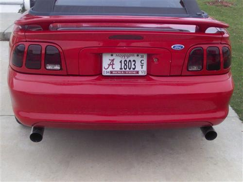 Stephen Cronk's 1995 Ford Mustang GT Convertible