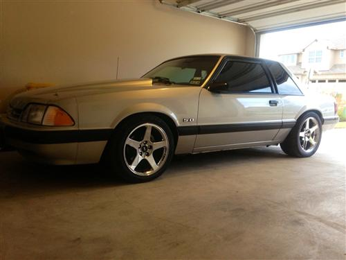 Steve Whalen's 1991 Ford Mustang LX Coupe