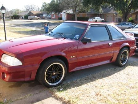terry gober's 1991 ford mustang gt