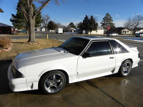 tim MINARY's 1987 FORD MUSTANG
