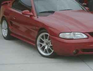 tj scott's 1995 ford mustang
