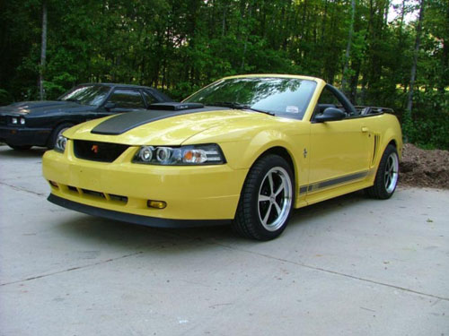 Tom Longerbeam's 2003 Ford Mustang GT