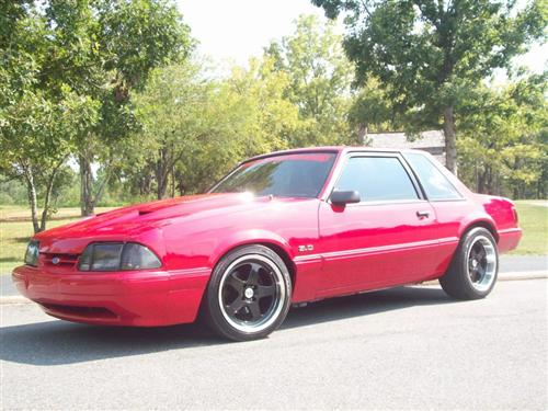 Tony Dawson's 1991 Ford mustang