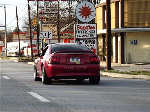 Tyler Bowman's 2000 ford  mustang