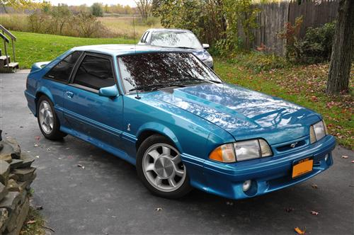 Vincent Sprague's 1993 Ford Mustang SVT Cobra