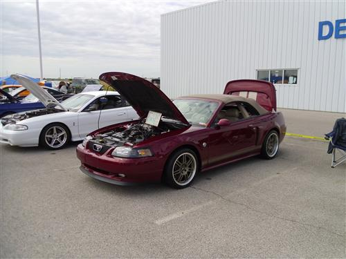Wes Prichard's 2004 Ford 40th Anniversary GT Convertible