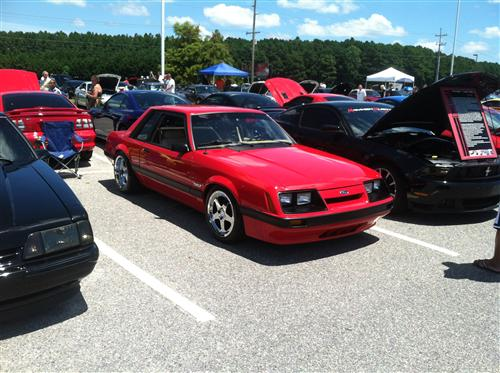 Will Prance's 1986 Ford  Mustang