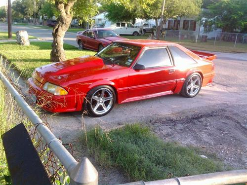 willie rios' 1991 Ford Mustang