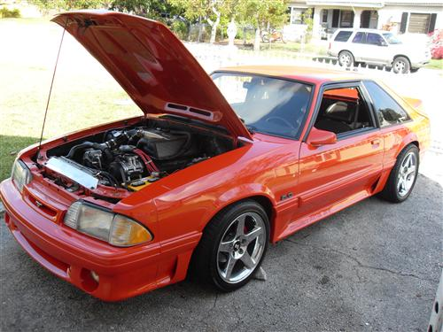 willy monti's 1990 ford mustang gt