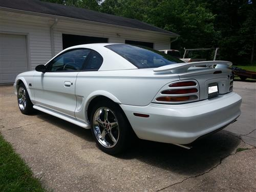 Woody Powell's 1995 Ford Mustang GT