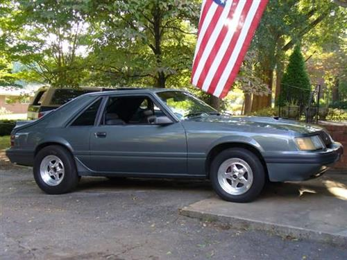 Zachery Flores' 1986 Ford SVO Mustang